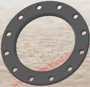 IPS ductile iron backing flanges